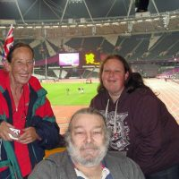 Barry, Pat and Anne Couzens